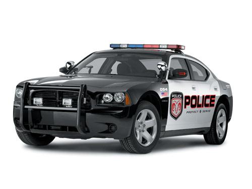 Dodge Charger Cop Car