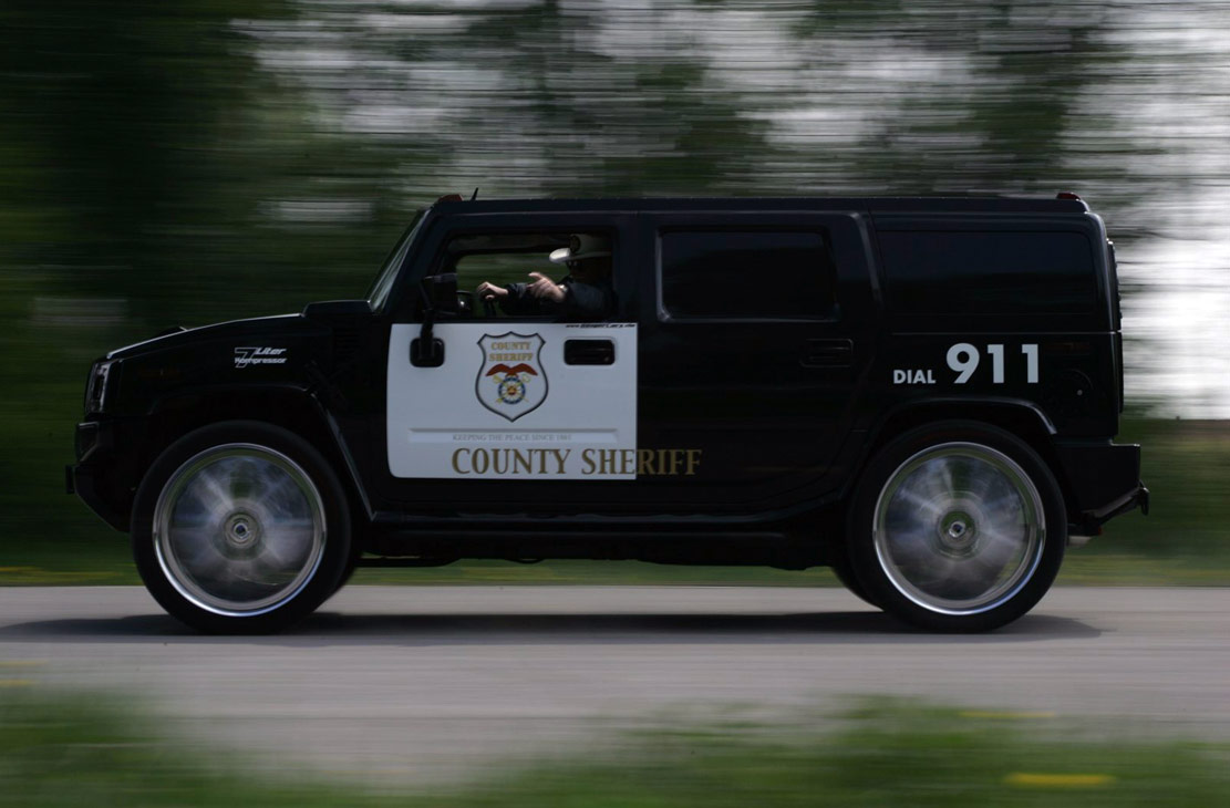 Best of police cars -  Hummer H2 Police Car Geigercars