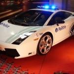 Belgian Police Car, Lamborghini Gallardo