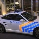 Belgian Police Car, Porsche Cayman