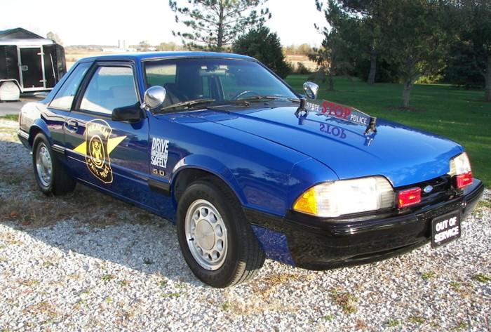 1992 Ford Mustang & Cool Police Cars | Cop Car Land markmcfarlin.com
